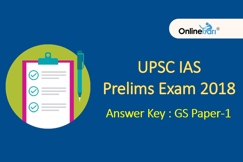 UPSC IAS Answer Key-All Set