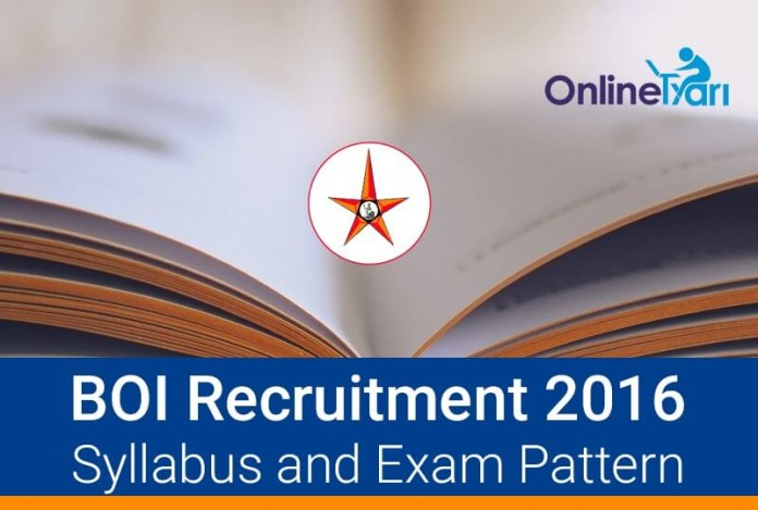 Bank-of-India-BOI-Specialist-Officer-Syllabus-Exam-Pattern-2016