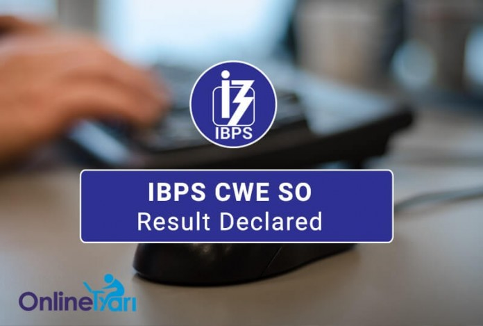 IBPS CWE SO Result Out