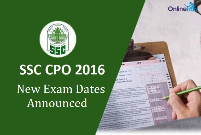 SSC CPO Re-Examination Date Announced