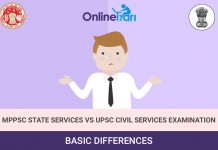UPSC IAS vs. MPPSC State Services Examination - Job, Eligibility, Exam Pattern