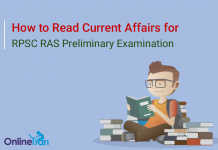 How to Read Current Affairs for RPSC RAS Prelims 2016
