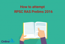 How to attempt RPSC RAS Prelims 2016