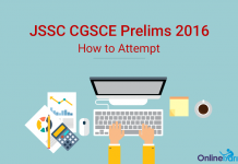 How to Attempt JSSC CGL Prelims 2016
