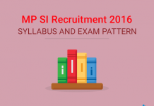 MP Police SI Syllabus and Exam Pattern 2016
