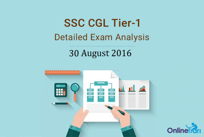SSC CGL Tier 1 Exam Analysis, Expected Cutoff: 30 August 2016