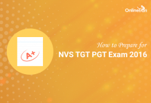 How to Prepare for NVS TGT PGT Exam 2016