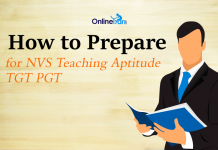 How to Prepare for NVS Teaching Aptitude TGT PGT