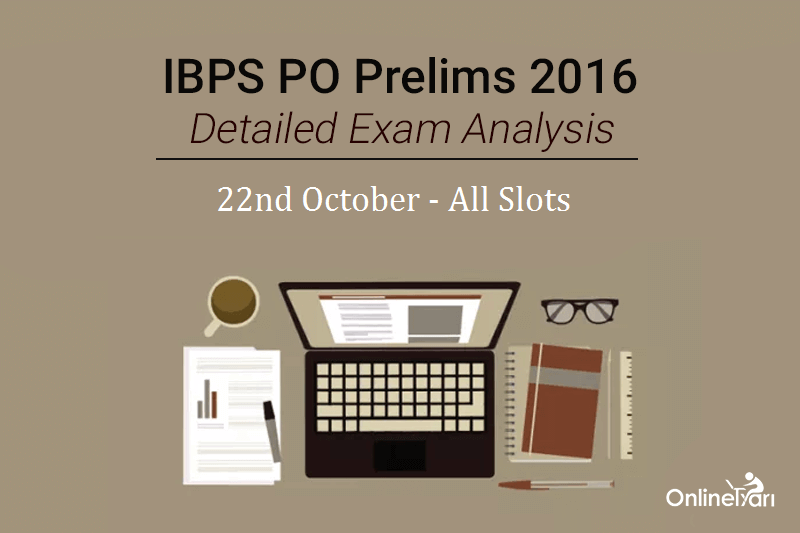 po analysis Now a days most of the online education platforms are providing exam analysis  for all of competitive exams the exam analysis will tell you about the exam.