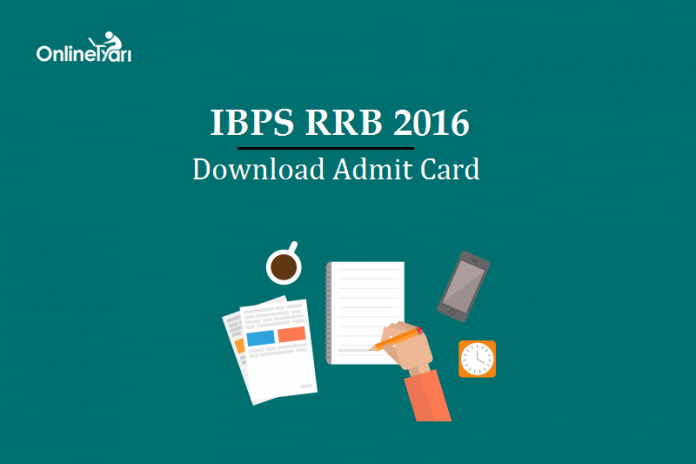 IBPS RRB Assistant Mains Admit Card 2016: Download Now