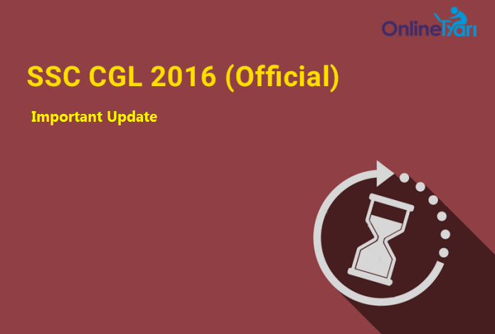 SSC CGL Tier 1 Re-Exam 2016