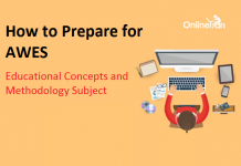 How to Prepare for AWES Educational Concepts and Methodology Subject