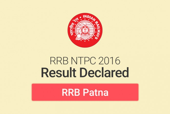 RRB NTPC Result 2016 for Patna: Check Merit List