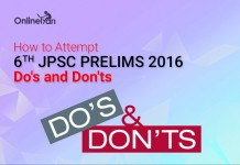 How to Attempt 6th JPSC Prelims 2016: Do's and Don'ts