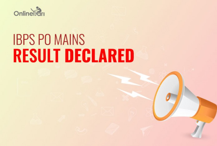 IBPS PO Mains Result 2016 Declared: Check Mains Score Card