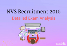 NVS Exam Analysis