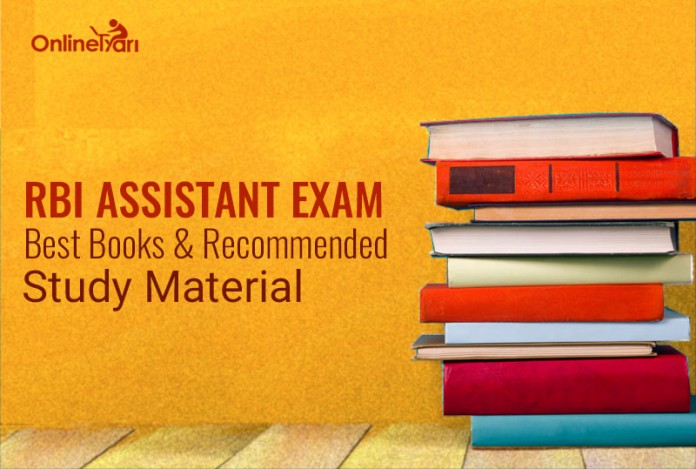 RBI Assistant Exam Best Books, Recommended Study Material