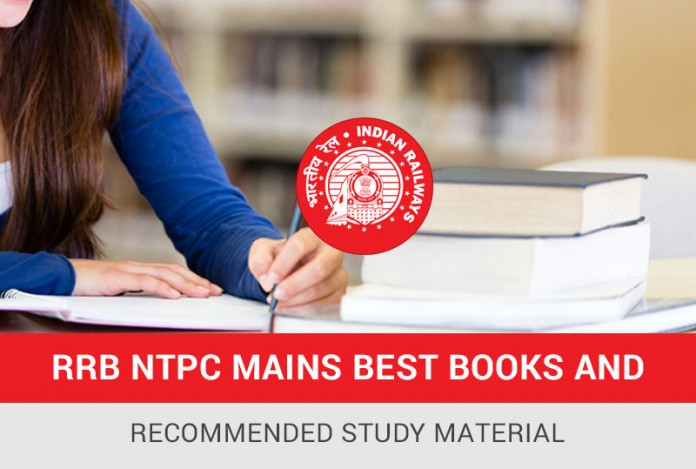 RRB NTPC Mains Best Books and Recommended Study Material