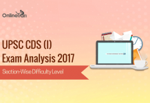 UPSC CDS 1 Exam Analysis 2017: Section Wise Difficulty Level