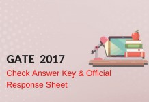 GATE 2017 Answer Key Released: Check Official Solutions Here