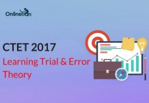 CTET Examination 2017: Learning Trial and Error Theory