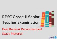 RPSC Grade 2 Senior Teacher Exam Best Books and Study Material