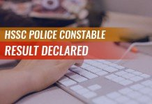 HSSC Police Constable Result Declared: Check Here