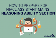 How to Prepare for NIACL Assistant Mains Reasoning Ability Section