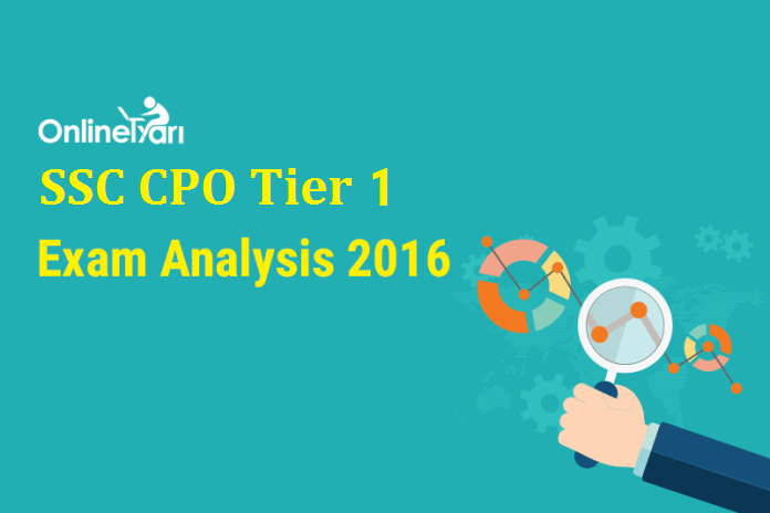 SSC CPO Previous Year Exam Analysis, Section-Wise Difficulty Level