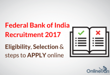 Federal Bank PO Clerk Recruitment 2017: Eligibility, Selection, Apply Now