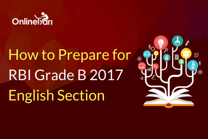 How to Prepare for RBI Grade B English Language Section 2017