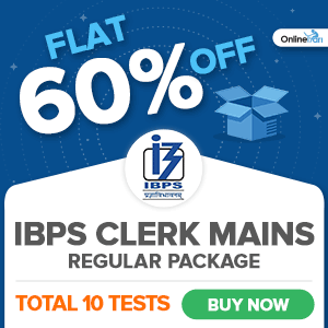 Online IBPS Clerk Mock Test