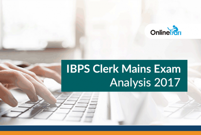 IBPS Clerk Mains Exam Analysis, Paper Review: 21st January 2017