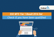SSC MTS Tier 1 Result Declared: Direct Link to check zone-wise merit list