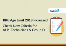 RRB Age Limit 2018 Increased: Check New Criteria for ALP, Technicians & Group D