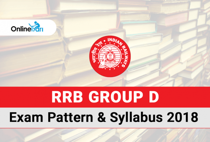 RRB Group D Exam Pattern & Syllabus 2018