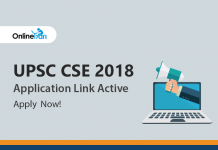 UPSC CSE 2018 Application Link Active: Apply Now!