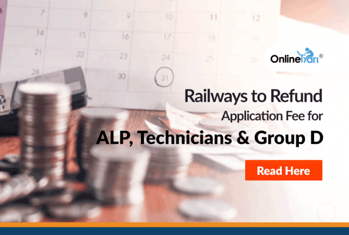 Railways to Refund Application Fee for ALP, Technicians and Group D: Read Here