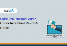 IBPS PO Result 2017 Out: Check here CWE VI Final Result & Cutoff