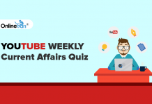 Youtube Weekly Current Affairs Quiz