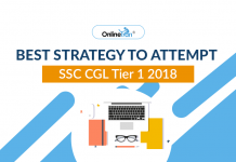 Best Strategy to Attempt SSC CGL Tier 1 2018
