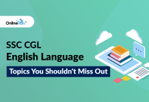 SSC CGL English Language: Topics You Shouldn't Miss Out