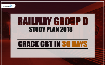Railway Group D Study Plan 2018: Crack CBT in 30 Days