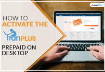How to activate the TyariPLUS Prepaid on Desktop