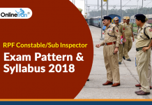 RPF Constable/Sub Inspector Exam Pattern & Syllabus 2018